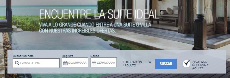 Starwood Hoteles Ofertas y Reservas