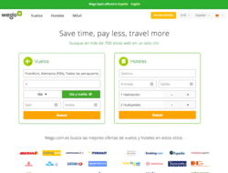 Código Descuento Wego Travel Search 2018
